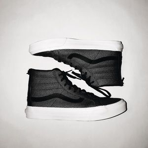 Black & Silver Limited Addition Vans